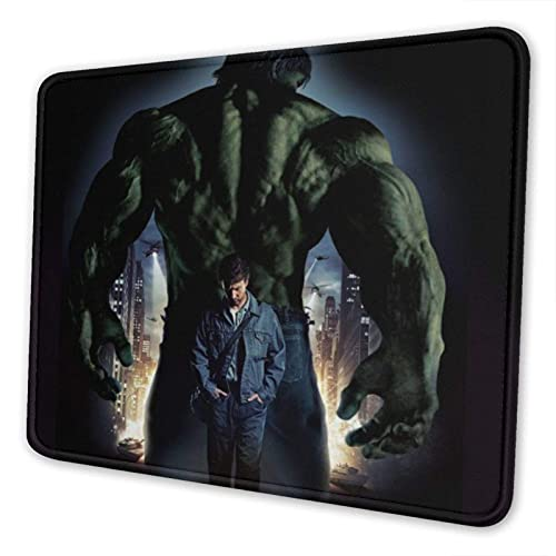 XCNGG Alfombrilla para ratón Hulk Mouse Pad Mat Gaming Unique Custom Mousepad, Computer Keyboard, Stitched Edges, Office Ideal for Desk Cover, Large Mouse Pats, Laptop and PC 8.3 x 10.3 in