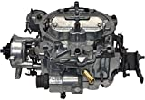 A-Team Performance 1904 Remanufactured Rochester Quadrajet Carburetor 4MV Compatible with GM Chevrolet Chevy 1980-1989 Electric Choke Carb