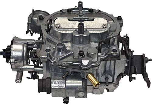 A-Team Performance 1904R Remanufactured Rochester Quadrajet Carburetor 4MV Compatible with GM Chevrolet Chevy 1980-1989 Electric Choke Carb