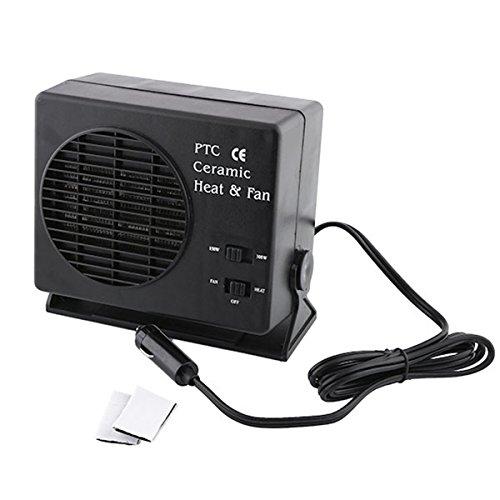 dDanke Noir Portable de Pare-Brise 12 V 150/300 W Auto Voiture Van en céramique Chauffage Dégivreur Cool Fan Winter Pare-Brise fenêtre Système de désembuage