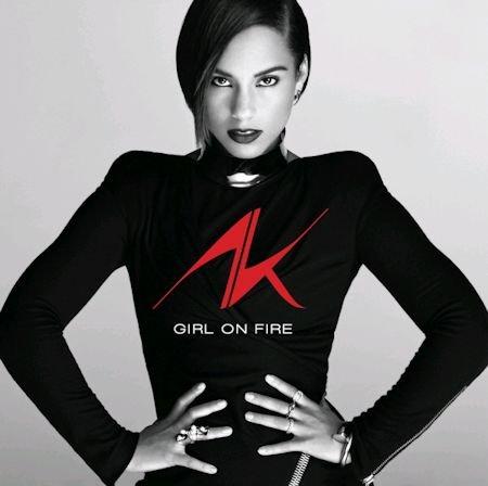 Pop CD, Alicia Keys - Girl On Fire (Poster ver)[002kr]