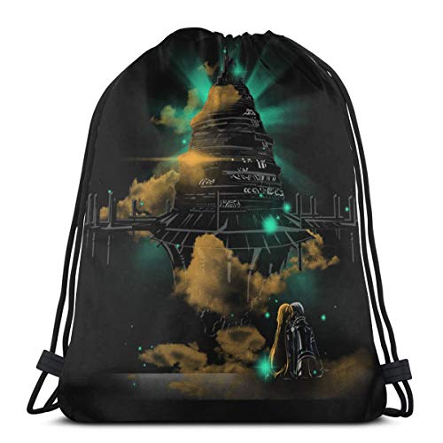 Sao Asuna Kirito Aincrad Drawstring Bags Sport Gym Backpacks Storage Goodie Cinch Bags