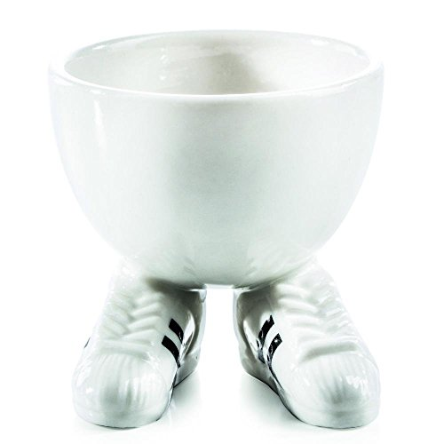 Preisvergleich Produktbild DONKEY Products Funky Egg Cups Eierlauf,  Eierbecher,  Eierhalter,  Eier Becher,  Porzellan,  210362