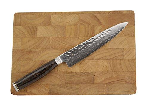 Kai Damastmesser-Shun Premier Tim Mälzer TDM-1701 Allzweckmesser 16 cm Klinge incl. Schneidebrett