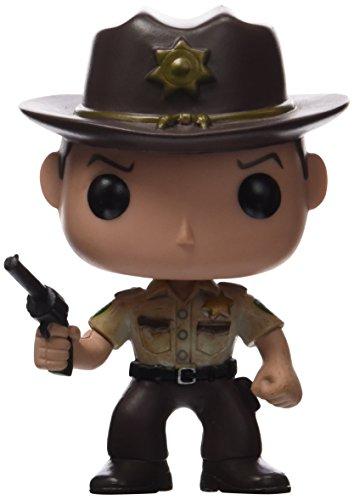 Funko 2955 Actionfigur The Walking Dead: Rick Grimes, Multi