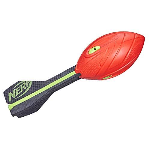 NERF Vortex Aero Howler Foam Ball – Classic Long-Distance Football -- Flight-Optimizing Tail --...