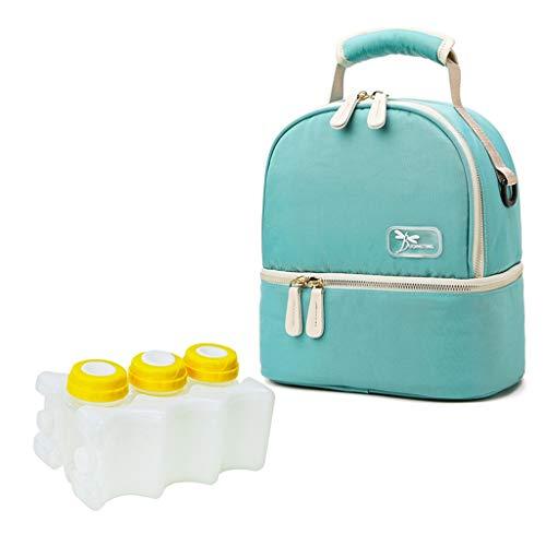 Lowral Insulated Bottle Bag, Waterproof, Warming Backpack Handbag for Breast Milk
