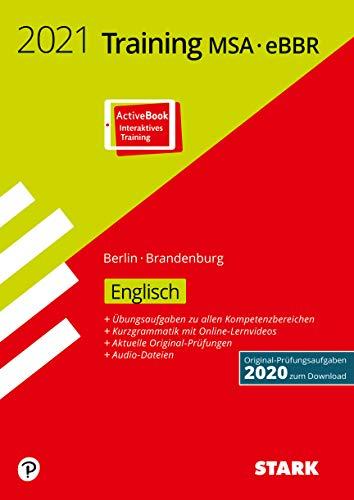 STARK Training MSA/eBBR 2021 - Englisch - Berlin/Brandenburg (STARK-Verlag - Abschlussprüfungen)