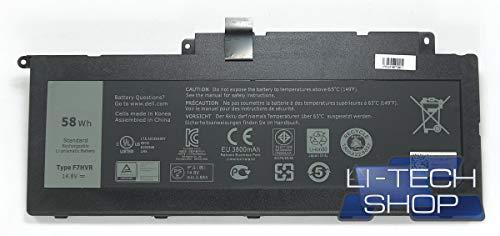 LI-TECH Akku kompatibel 3800mAh für CODICE Dell 45I-BBEN 14.4V 14.8V Computer 3.8Ah