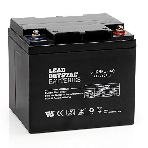 Lead Crystal - Akku Bleikristall 6-CNFJ-40 12V 40Ah M6-F