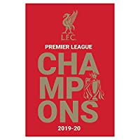 LIVERPOOL FC リヴァプールFC - Champions 2019/20 Logo/ポスター 【公式/オフィシャル】