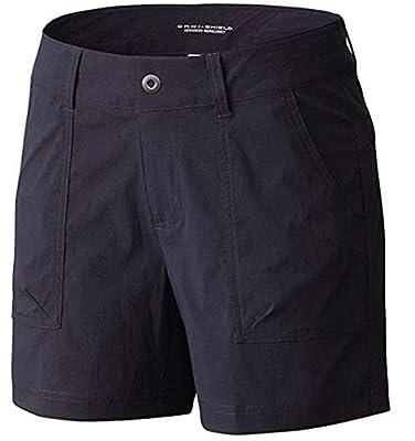 "Columbia Women's Kestrel Trail Omni-Shield Stretch Shorts (8 / Inseam 10"", Navy)"