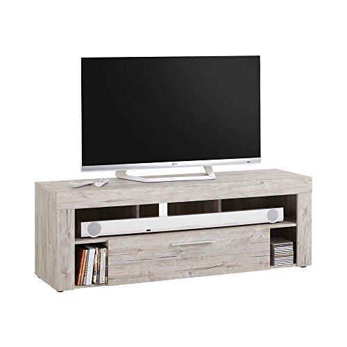 FMD furniture Lowboard, Spanplatte, Sandeiche, ca. 150 x 52,8 x 40 cm