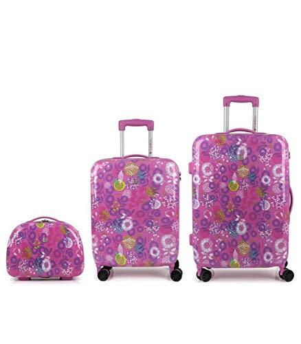 Gabol - Cute | Cabin Suitcase Set, Medium and Bag