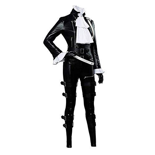 COSEASY PROMARE - Disfraz de Lio Fotia Mad Burnish para cosplay, disfraz de Halloween - negro - XXX-Large
