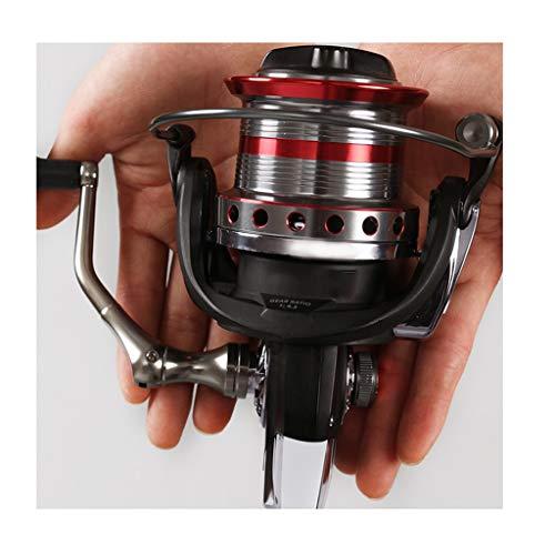 Carretes de pesca de altura Shimano Carretes De Pesca Ruedas De Metal Reforzado Interruptor De Tope De Alambre De Metal Interruptor De Respaldo De Gran Capacidad Copa De Alambre Botón De Rotación De D