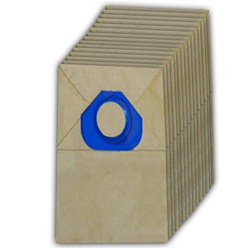 Spares2go papier Sacs à poussière pour aspirateur Nilfisk (lot de 15)