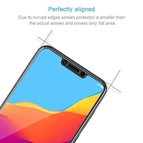 PaceBid [2 Stück] Huawei Honor Play Panzerglas Schutzfolie, Tempered Glass [9H Härte][Anti-Fingerabdruck][Ultra-klar] Panzerglasfolie Displayschutzfolie Für Huawei Honor Play - 3