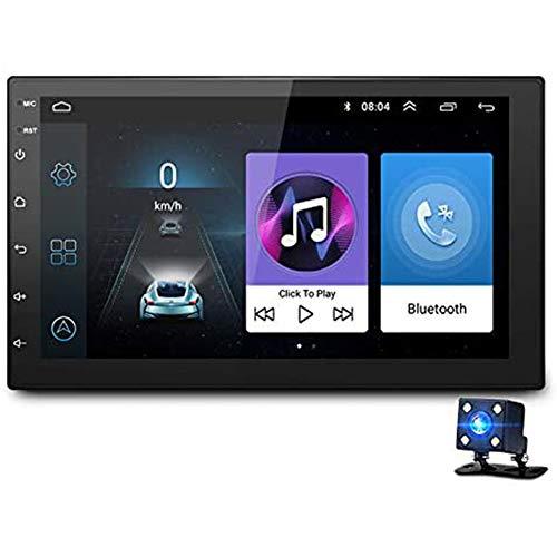 YCX Android Auto DVD Radio Multimedia Player GPS Navigation Universal Für Nissan Peugeot Toyota Double Din Autoradio,Schwarz