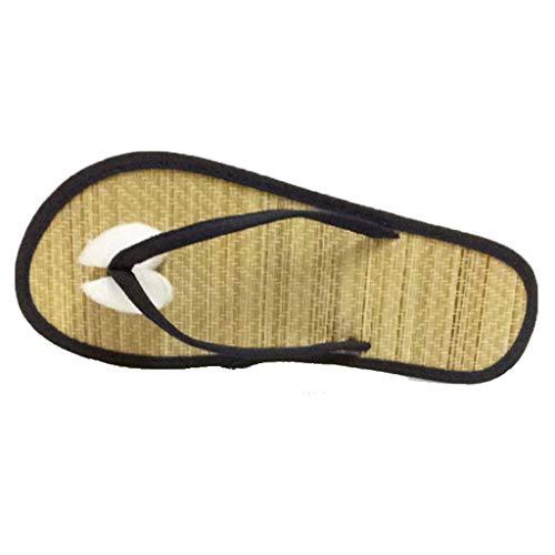 GHX Flip-Flops, Hausschuhe, Damen große Sandalen und Pantoffeln,A,35