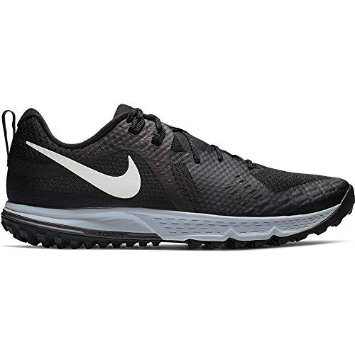 Nike Air Zoom Wildhorse 5 Men's Running Shoe Black/Barely Grey-Thunder Grey-Wolf Grey 10.0