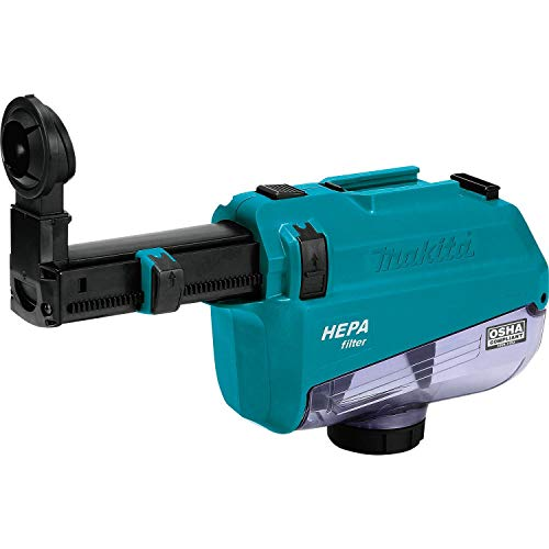 Makita DX05 Dust Extractor Attachment with Hepa Filter Cleaning Mechanism