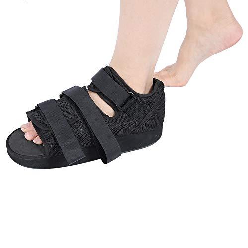 Zapato post-operatorio, 1 pieza de calzado Protección para los pies Bota moldeada Calzado post-operatorio moldeado Bota para caminar Bota de apoyo ortopédico con punta cuadrada(S)