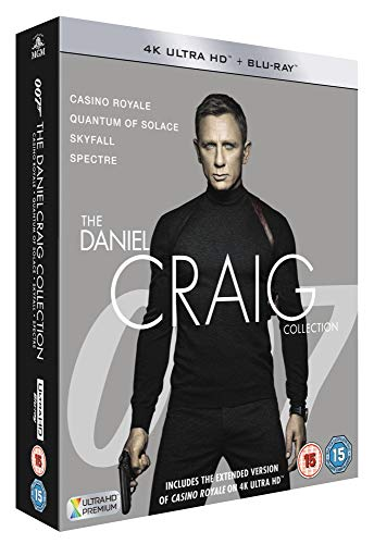James Bond: The Daniel Craig Collection [4K UHD] [2019] [Blu-ray]