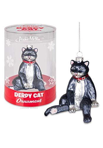Accoutrements Derpy Cat Ornament Standard