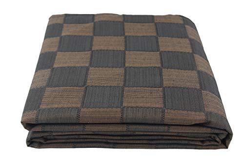 Colcha Multiusos para sofá, Manta Foulard Extra Grande, Plaid, Cubrecama Dákar (Chocolate, 250x320)