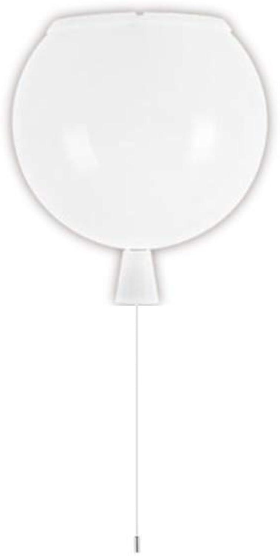 BHJqsy Farbe Balloon Deckenleuchte - Persnlichkeitsideen - Schlafzimmer - Kindergarten - Kinderzimmer - LED-Deckenleuchte (Farbe   Wei)