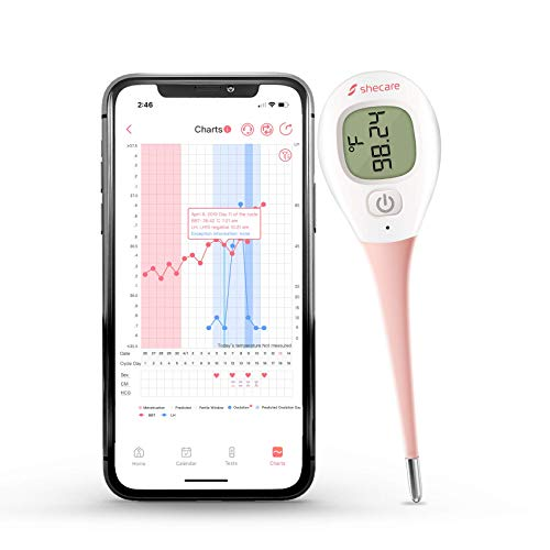 Shecare Digital Basal Body Thermometer for Ovulation ,Fertility BBT...