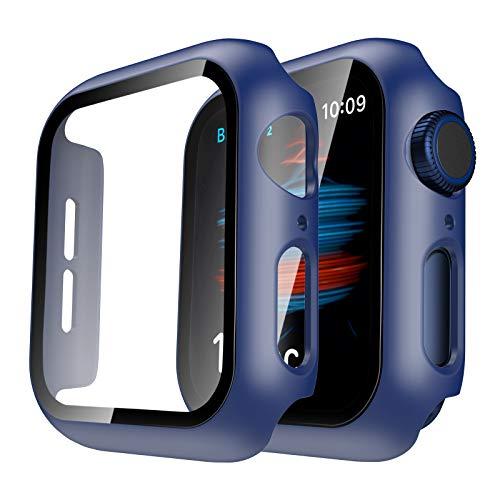 TAURI 2 Pack Funda Apple Watch 40mm Series 6 5 4 SE...