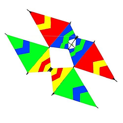 Yanqhua Drachen Neue hochwertige 3D Einzellinie Erwachsener Kite Sportstrand mit Griff und Schnur leicht zu fliegen