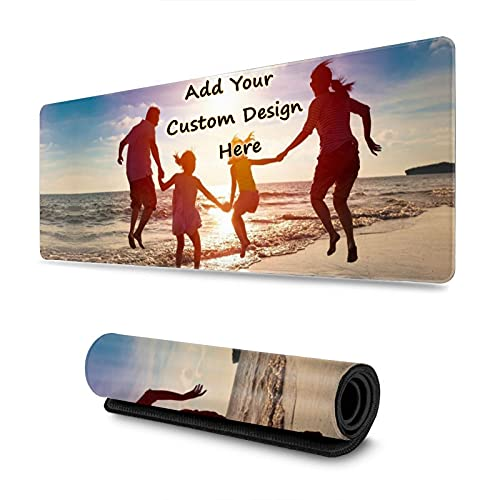 Custom Mouse Pad with Your Picture,Customized Mouse Pad with Photo for Gaming Office