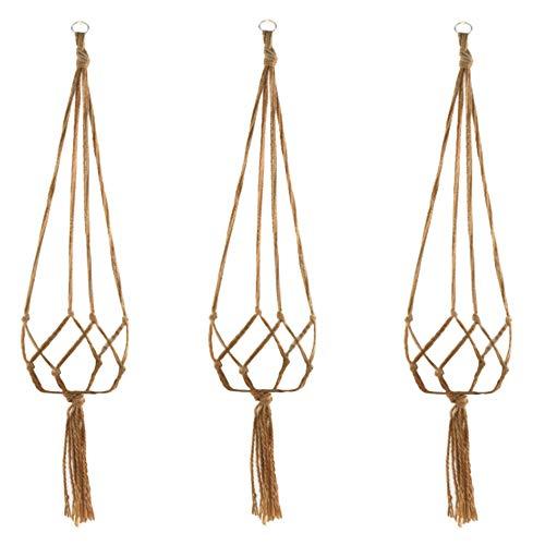 観葉植物吊り下げロープ