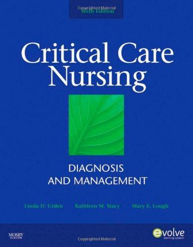 Critical Care Nursing: Diagnosis and Management (Thelans...