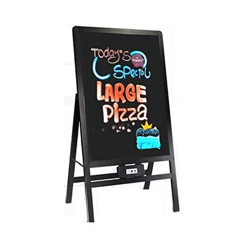 ZCX Blackboard 50 * 70 cm Decorative Bollettino Board Board Board LED LED Fluorescente Bordo Verticale Scheda pubblicitaria Bacheche messaggi e insegne
