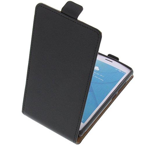 foto-kontor Tasche für Doogee X5 Max Pro X5 Max Smartphone Flipstyle Schutz Hülle schwarz