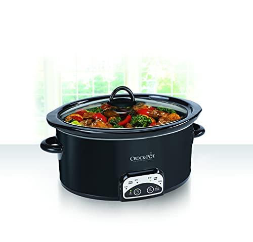 Mijoteuse Crock-Pot Numérique Smart-Pot, Noire - Modèle SCCPVP400B-033 - 2