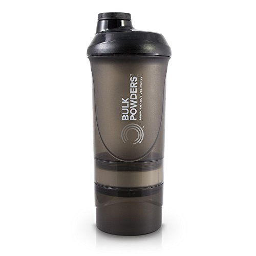 Bulk Pro Series Storage Shaker, Black, 600 ml