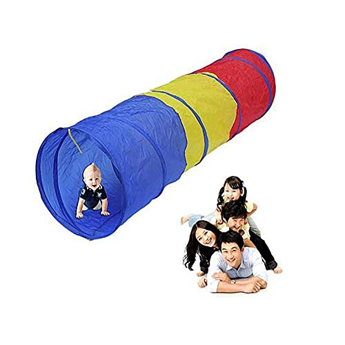Barm Play Tunnel Toy Tent Child Kids Pop up Discovery Tube Playtent Exploration Tunnel Education Toys 70.9 * 17.7 * 17. 7 in