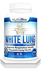 Lung Health And Support - Lung Cleanse And Detox. Respiratory Health Support - Effective to Support Your Bronchial System and Comfortable Breathing Through The Seasons. Free Breathing,Wheezing,Mucus Buildup. 30 Days lungs detox. 60 Capsules. Satisfac...