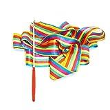 Cintas de gimnasia rítmica para niños, 1 unidad, colores
