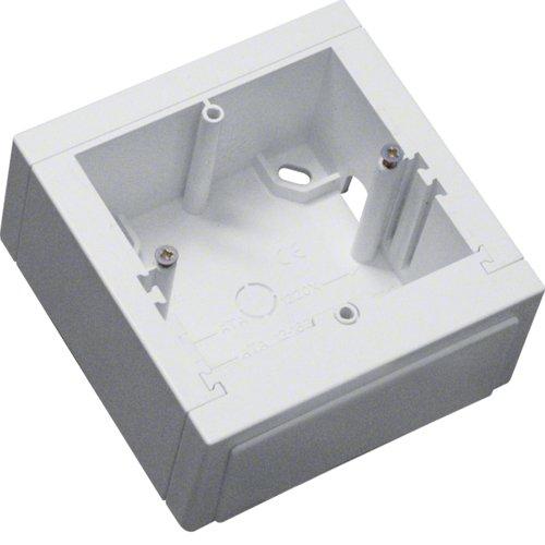 Hager Sistemas ATA806199010 Canal y accesorios, Blanco puro