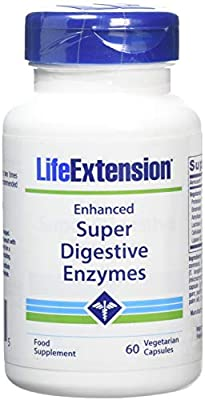Life Extension Europe Enhanced Super Digestive Enzymes Capsules, 60-Count