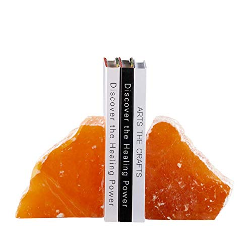 WEHOLY Book Ends Heavy Duty Bookends Book Ends Home Decoration Study Desktop Decoration Geometric Pattern Ore - The Best Gift for Fans