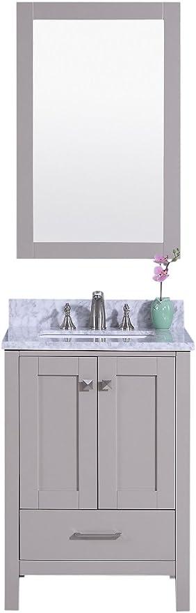 Legion Furniture Wt7224 G Bathroom Vanity 24 Warm Gray Amazon Com