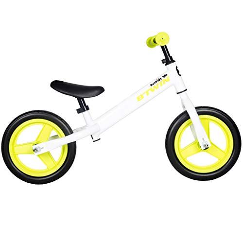 GASLIKE Spingere Bambini Sport Bambino Balance Glider Bici Walking Bicicletta per Boys & Girls 12 Pollici per 18 Mesi 2 3 4 5 Anni per i più Piccoli