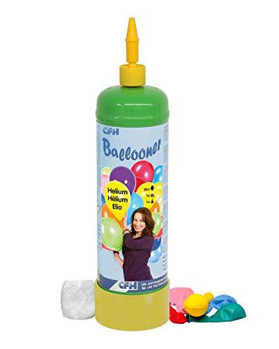 2,2litri Ballon Gas Elio + 30palloncini set CFH, Festa di compleanno festa di nozze